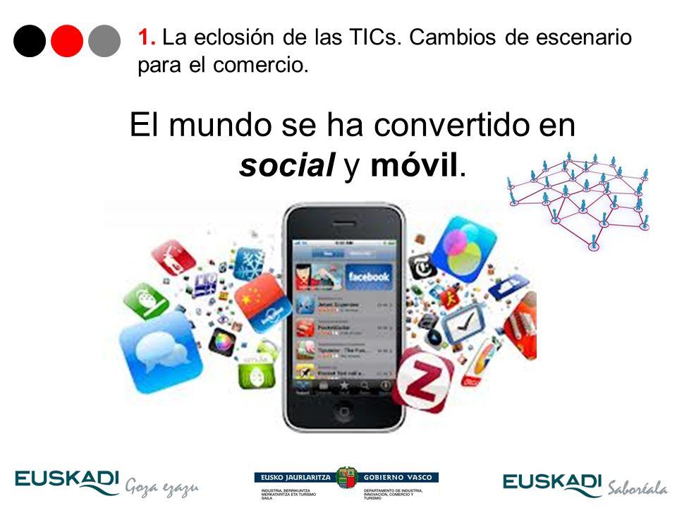 El mundo se ha convertido en social y móvil.
