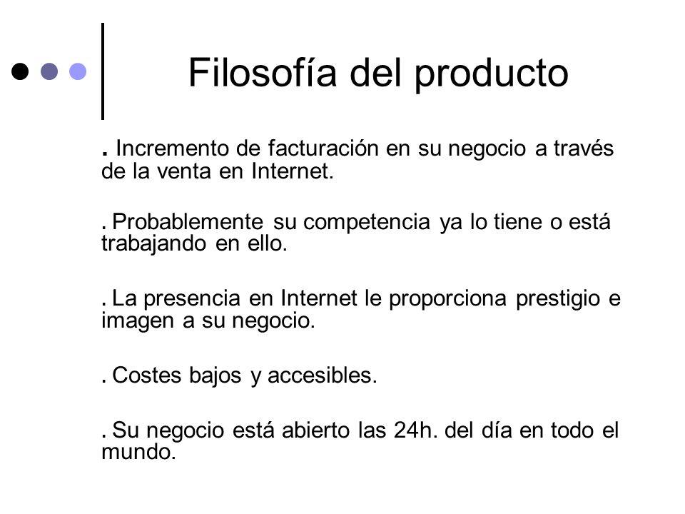 Filosofía del producto