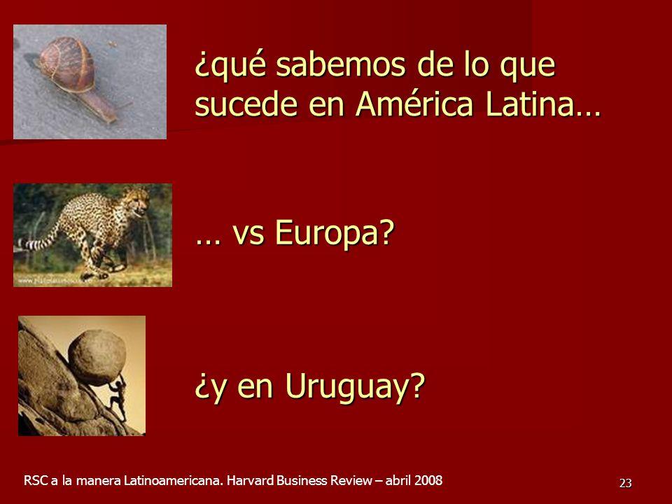 ¿qué sabemos de lo que sucede en América Latina…