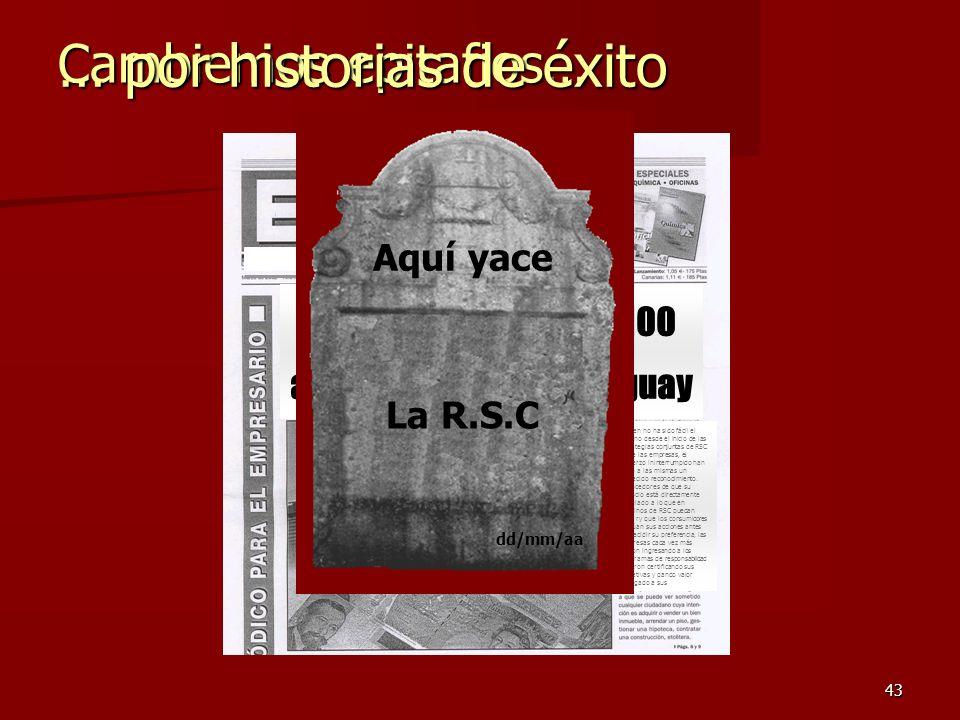 Se celebran hoy los 100 años de la RSC en Uruguay