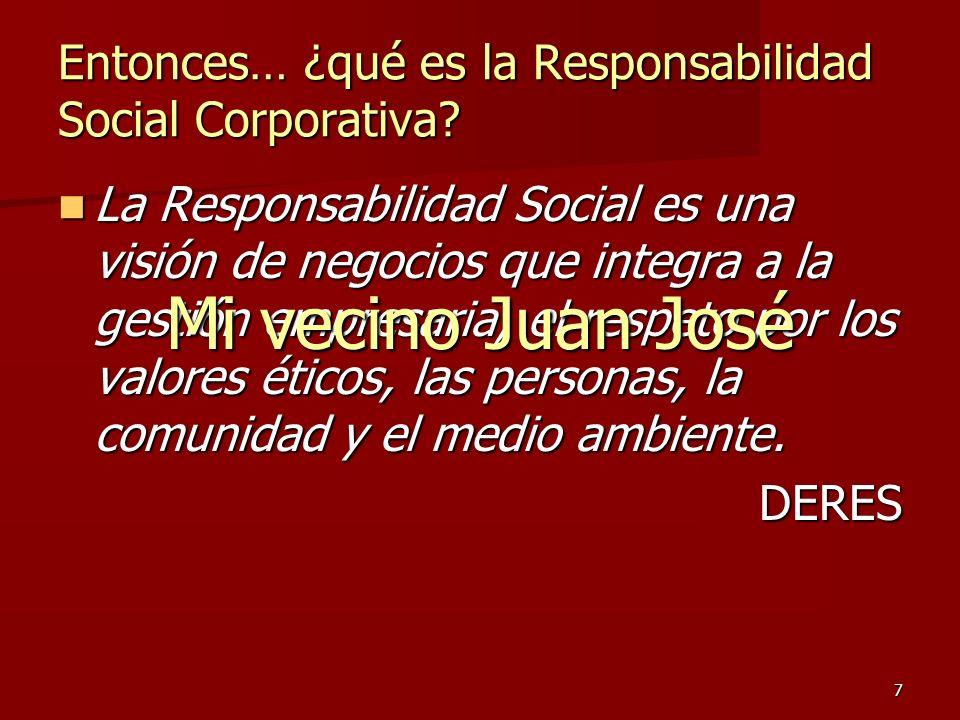 Entonces… ¿qué es la Responsabilidad Social Corporativa