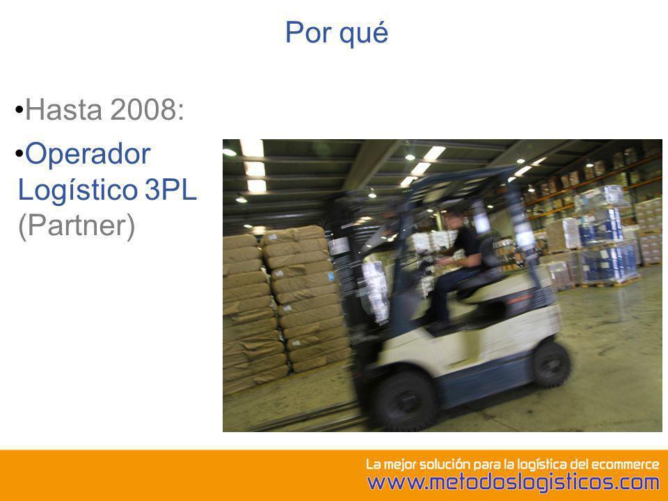 Operador Logístico 3PL (Partner)