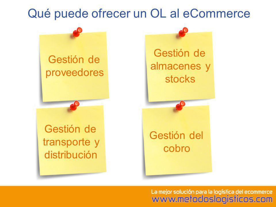 Qué puede ofrecer un OL al eCommerce