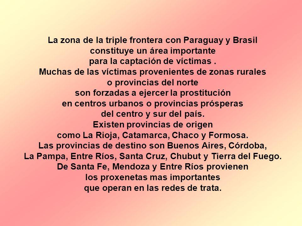 La zona de la triple frontera con Paraguay y Brasil