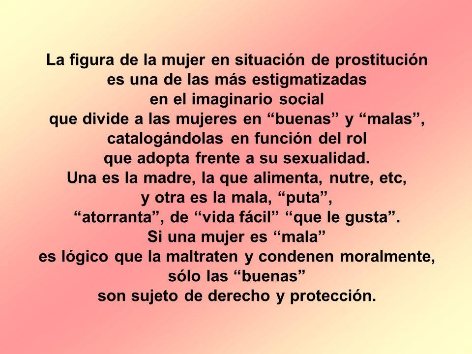 La figura de la mujer en situación de prostitución