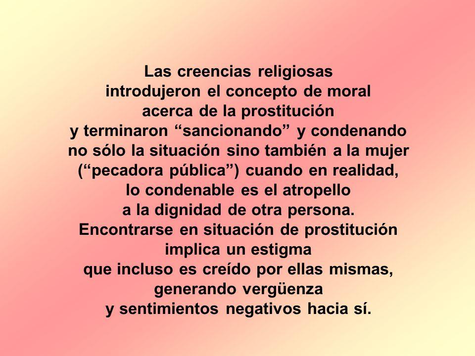 Las creencias religiosas introdujeron el concepto de moral