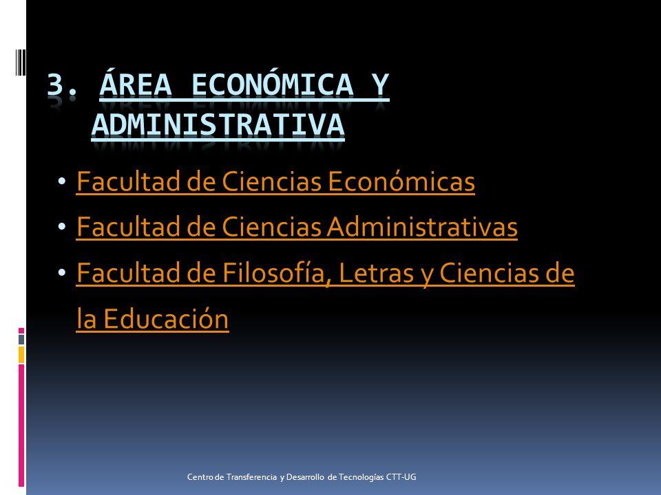 3. Área Económica y Administrativa
