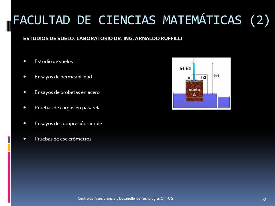 FACULTAD DE CIENCIAS MATEMÁTICAS (2)
