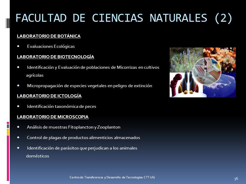 FACULTAD DE CIENCIAS NATURALES (2)