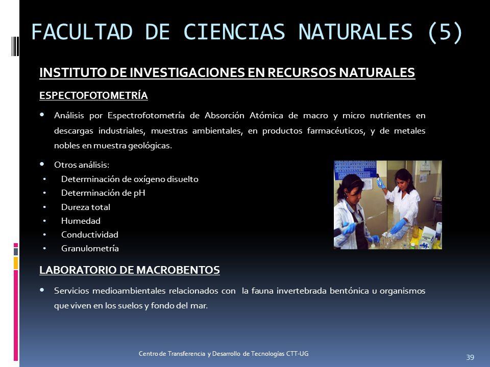 FACULTAD DE CIENCIAS NATURALES (5)