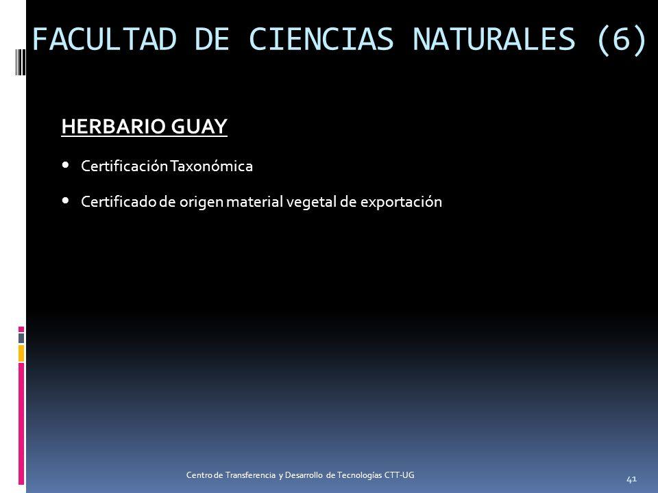 FACULTAD DE CIENCIAS NATURALES (6)