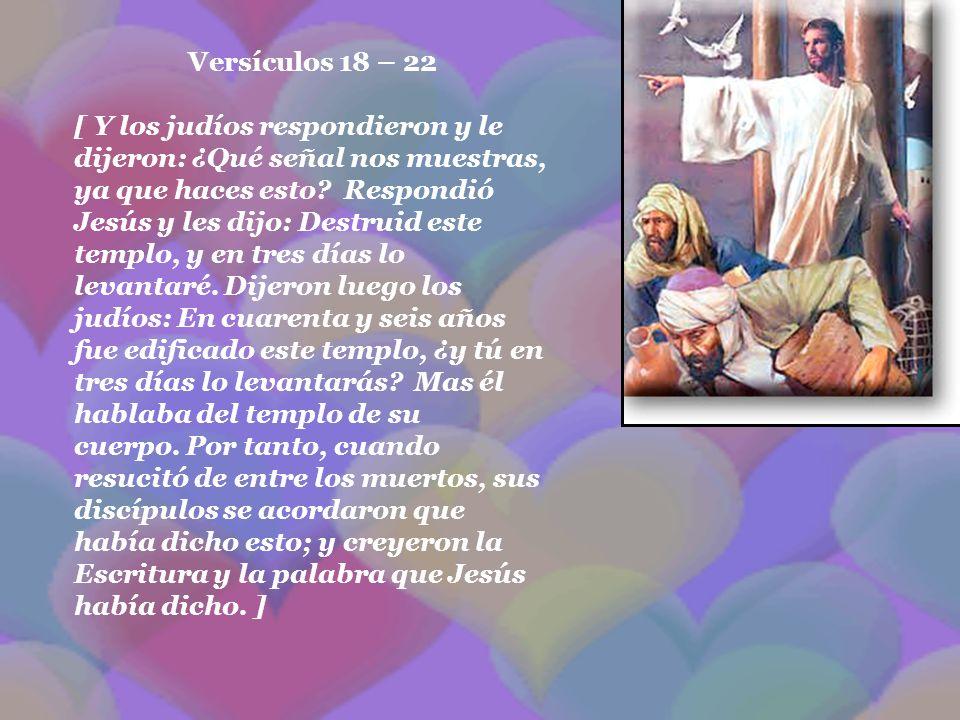 Versículos 18 – 22