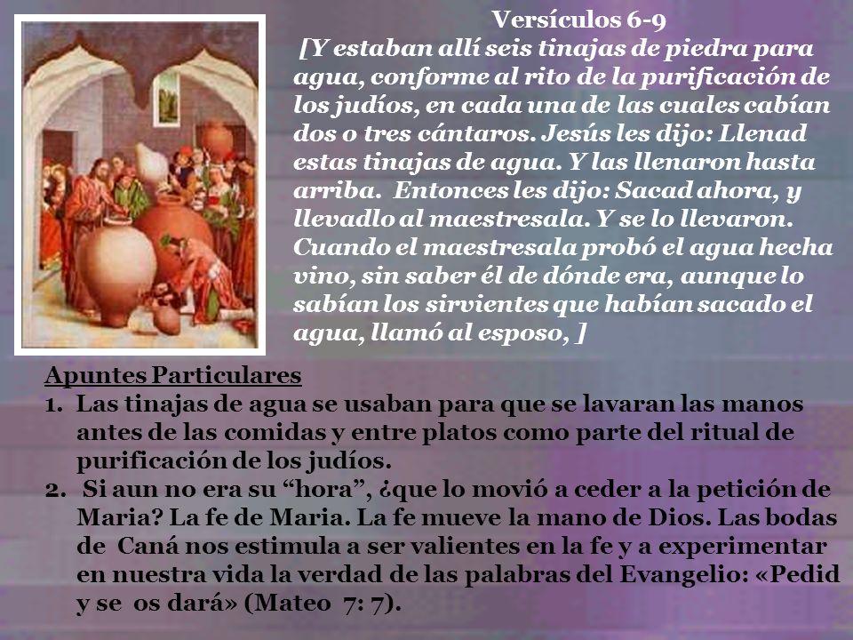 Versículos 6-9
