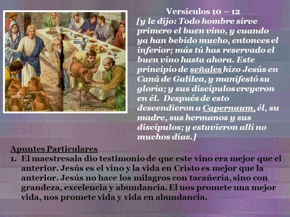 Versículos 10 – 12
