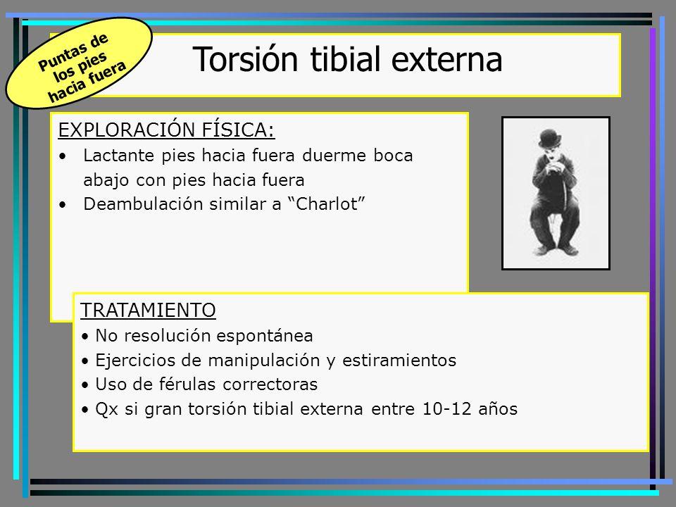 Torsión tibial externa