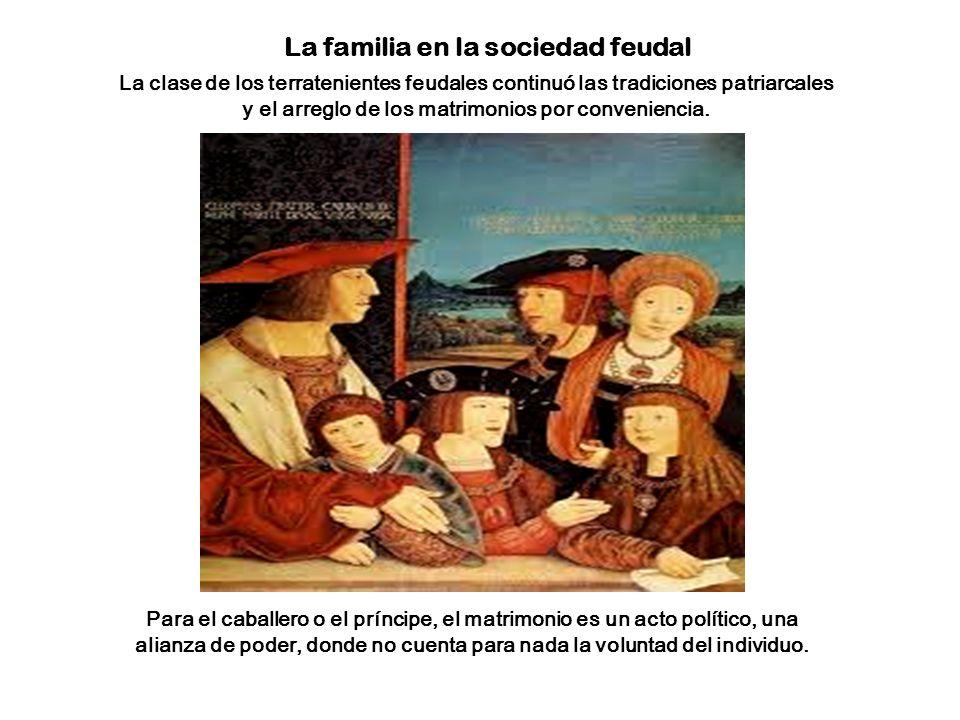La familia en la sociedad feudal