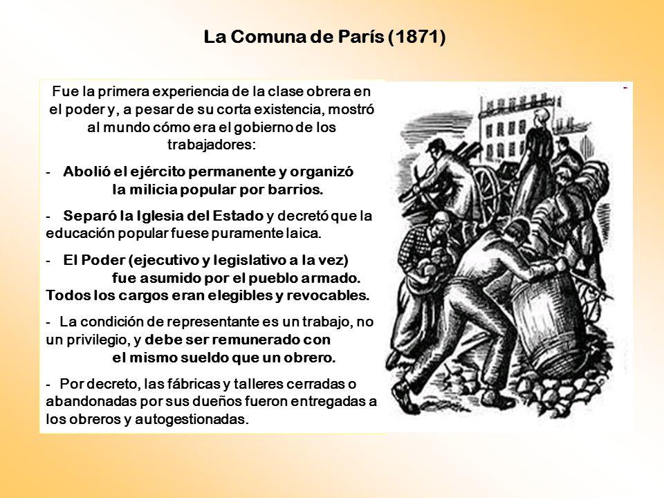 La Comuna de París (1871)