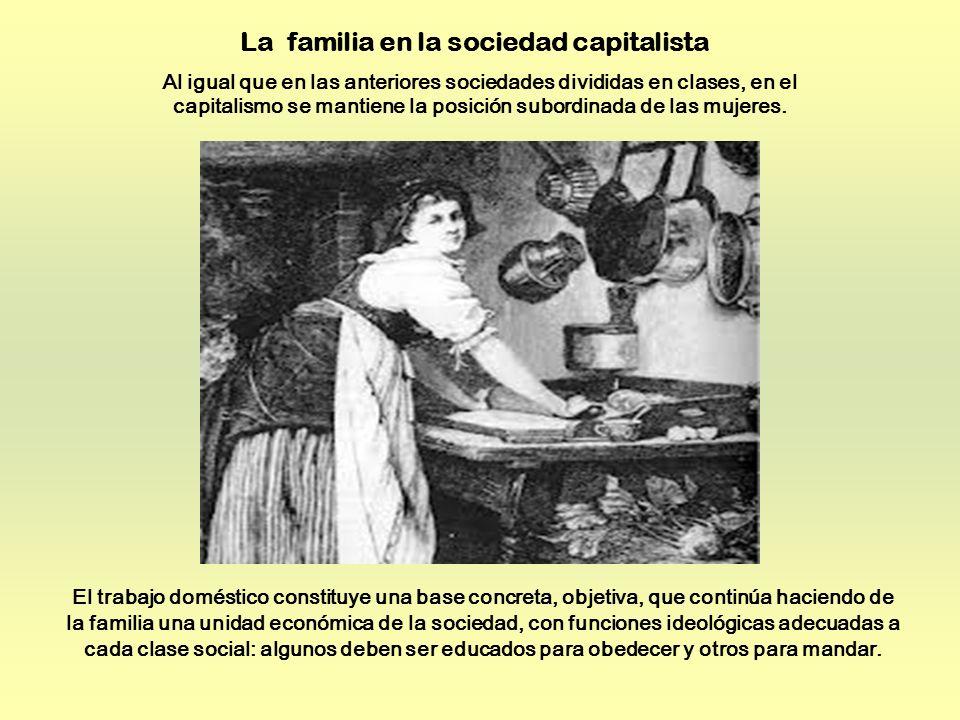 La familia en la sociedad capitalista
