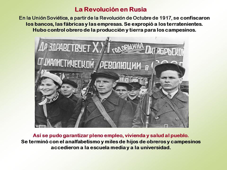 La Revolución en Rusia