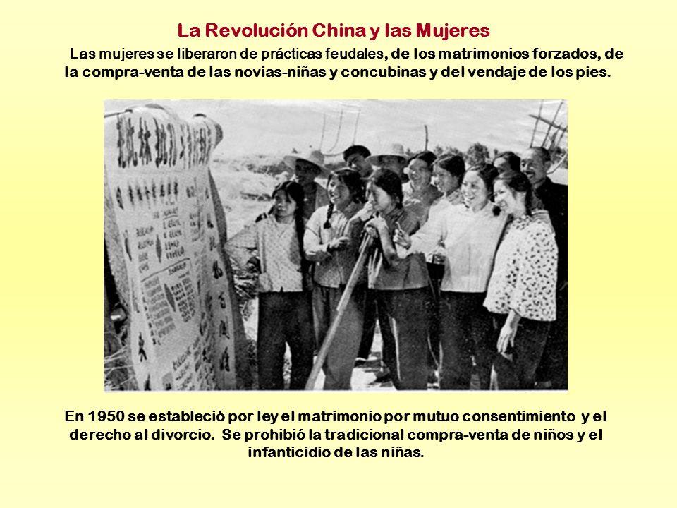 La Revolución China y las Mujeres