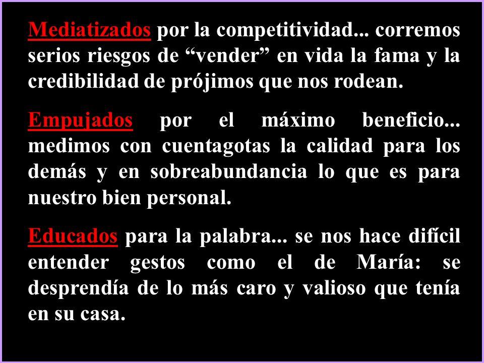 Mediatizados por la competitividad