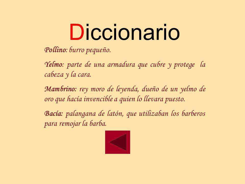 Diccionario Pollino: burro pequeño.