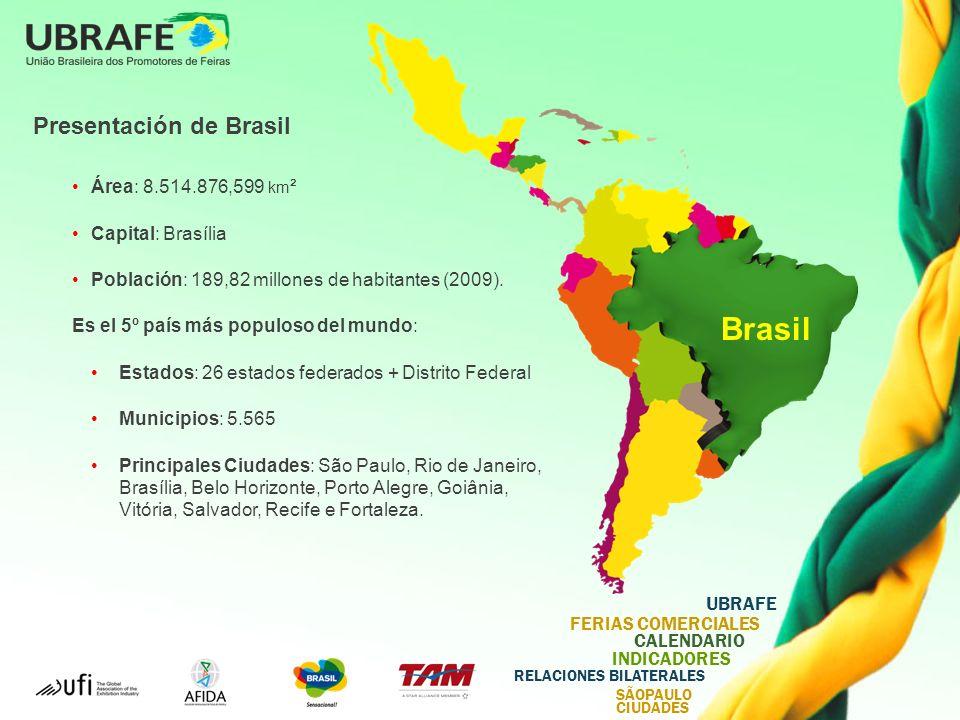 Brasil Presentación de Brasil Área: 8.514.876,599 km²