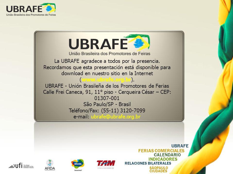 UBRAFE - Unión Brasileña de los Promotores de Ferias