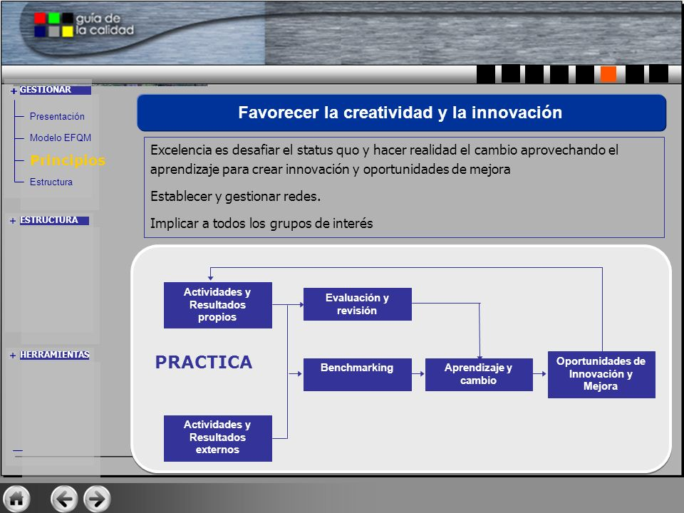 Favorecer la creatividad y la innovación