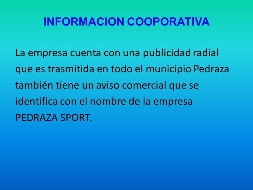 INFORMACION COOPORATIVA