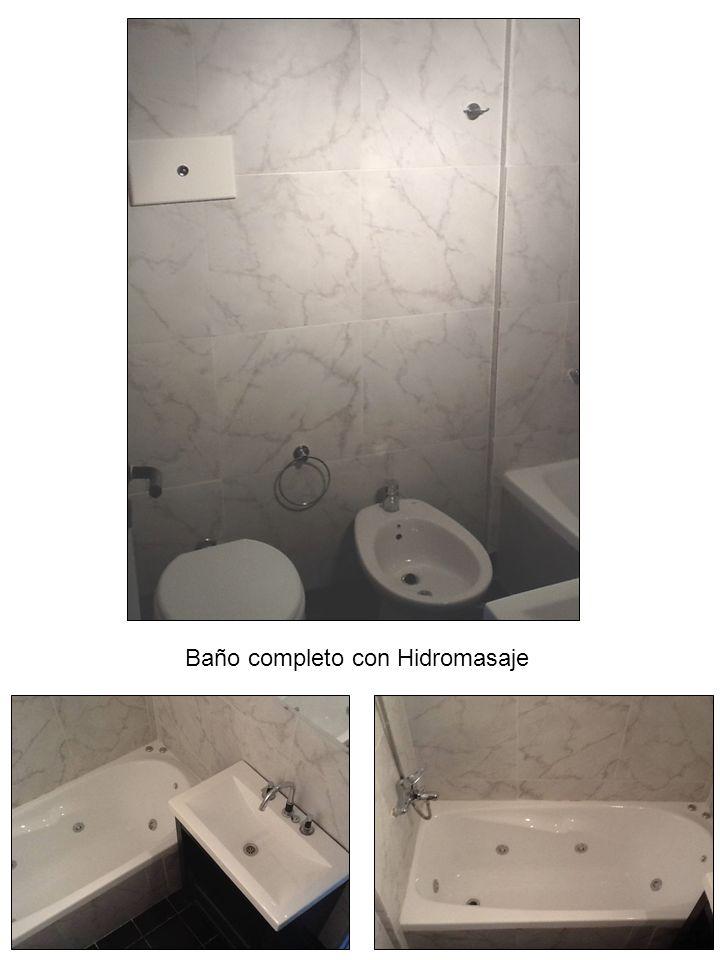 Baño completo con Hidromasaje