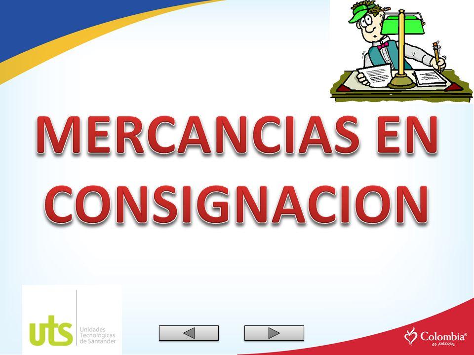 MERCANCIAS EN CONSIGNACION