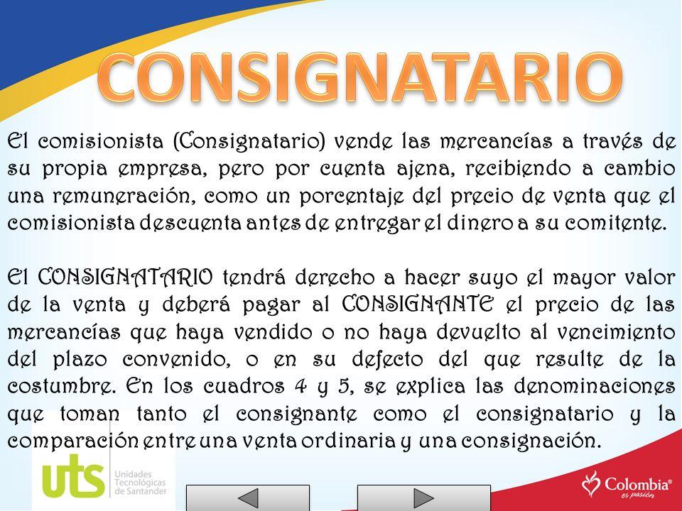 CONSIGNATARIO