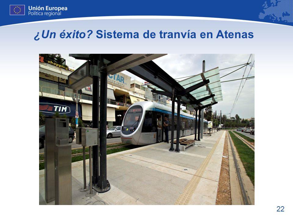 ¿Un éxito Sistema de tranvía en Atenas