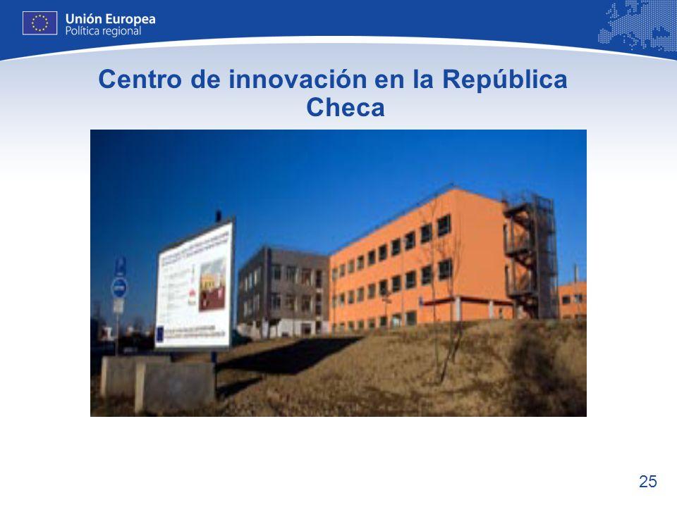Centro de innovación en la República Checa