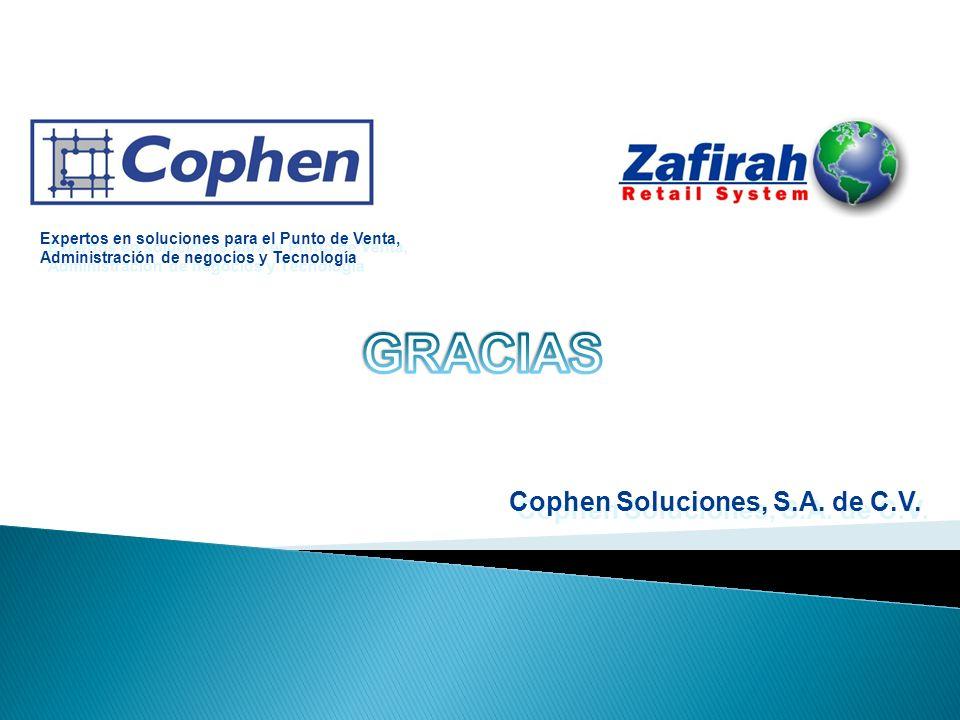 GRACIAS Cophen Soluciones, S.A. de C.V.