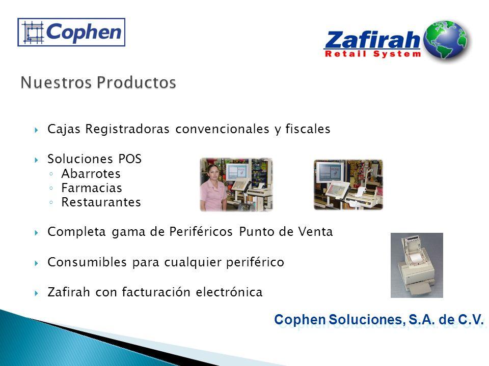 Nuestros Productos Cophen Soluciones, S.A. de C.V.