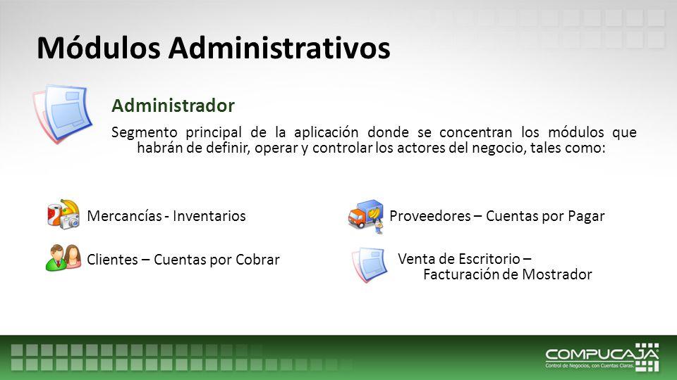 Módulos Administrativos