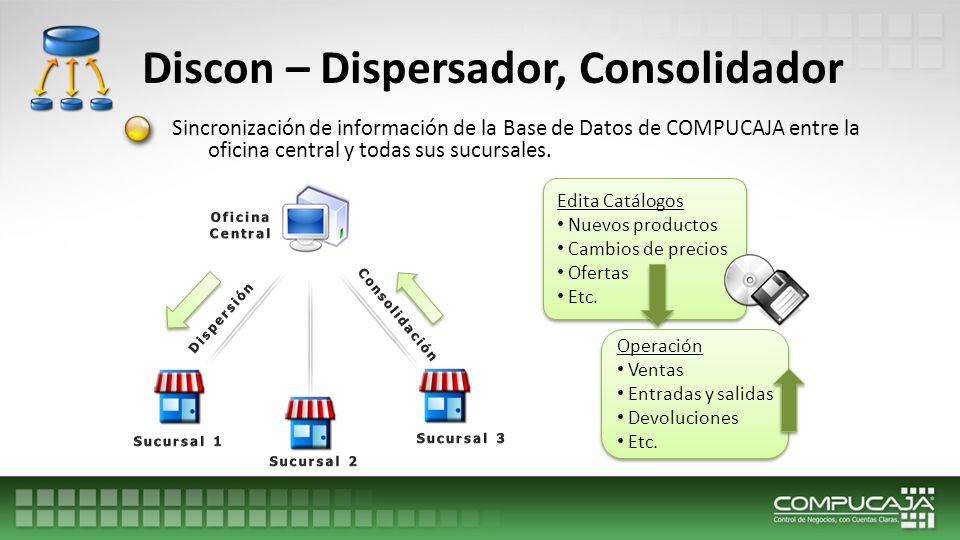 Discon – Dispersador, Consolidador