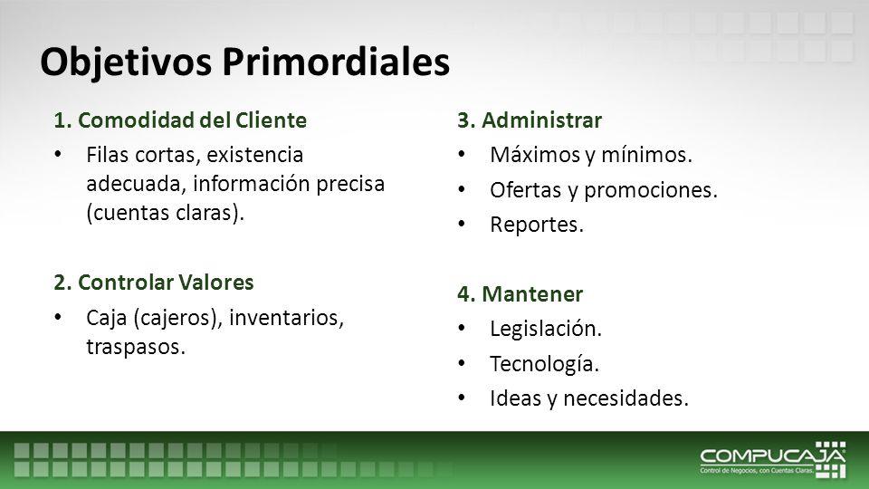 Objetivos Primordiales