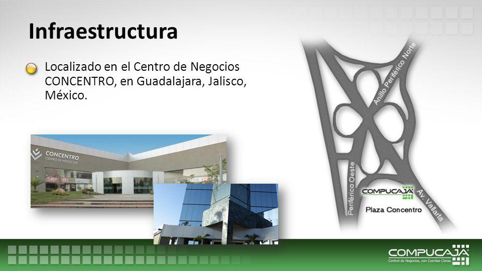 Infraestructura Localizado en el Centro de Negocios CONCENTRO, en Guadalajara, Jalisco, México.