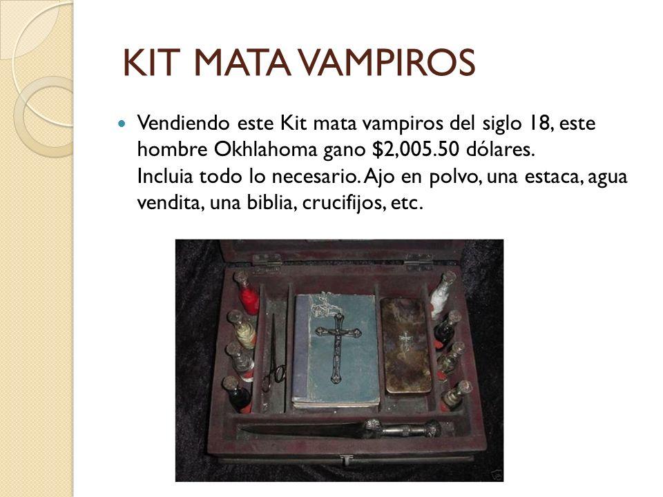KIT MATA VAMPIROS