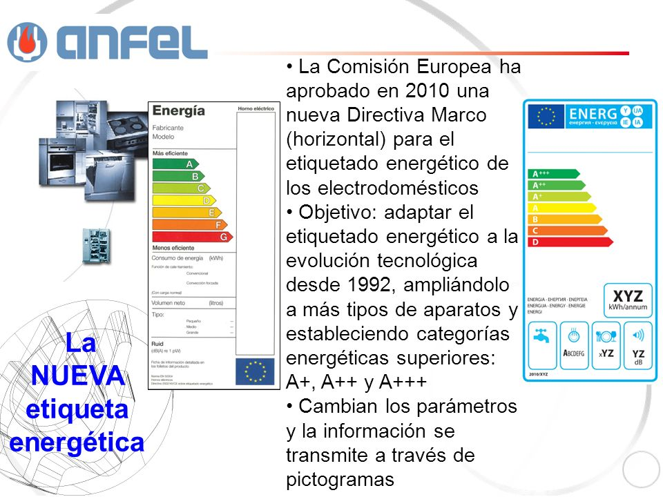 La NUEVA etiqueta energética