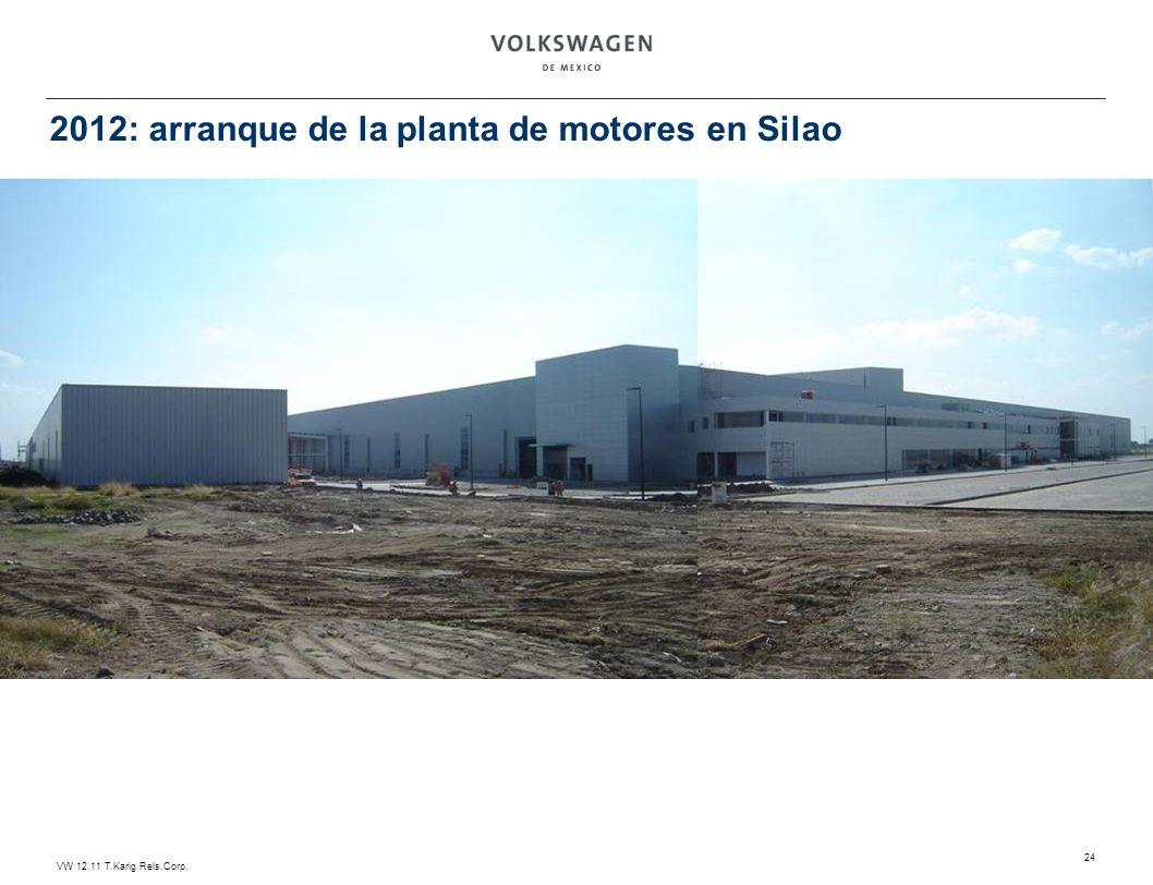 2012: arranque de la planta de motores en Silao