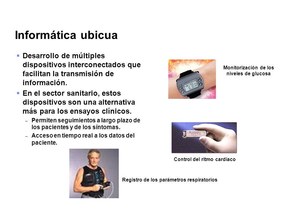 Informática ubicua Desarrollo de múltiples dispositivos interconectados que facilitan la transmisión de información.