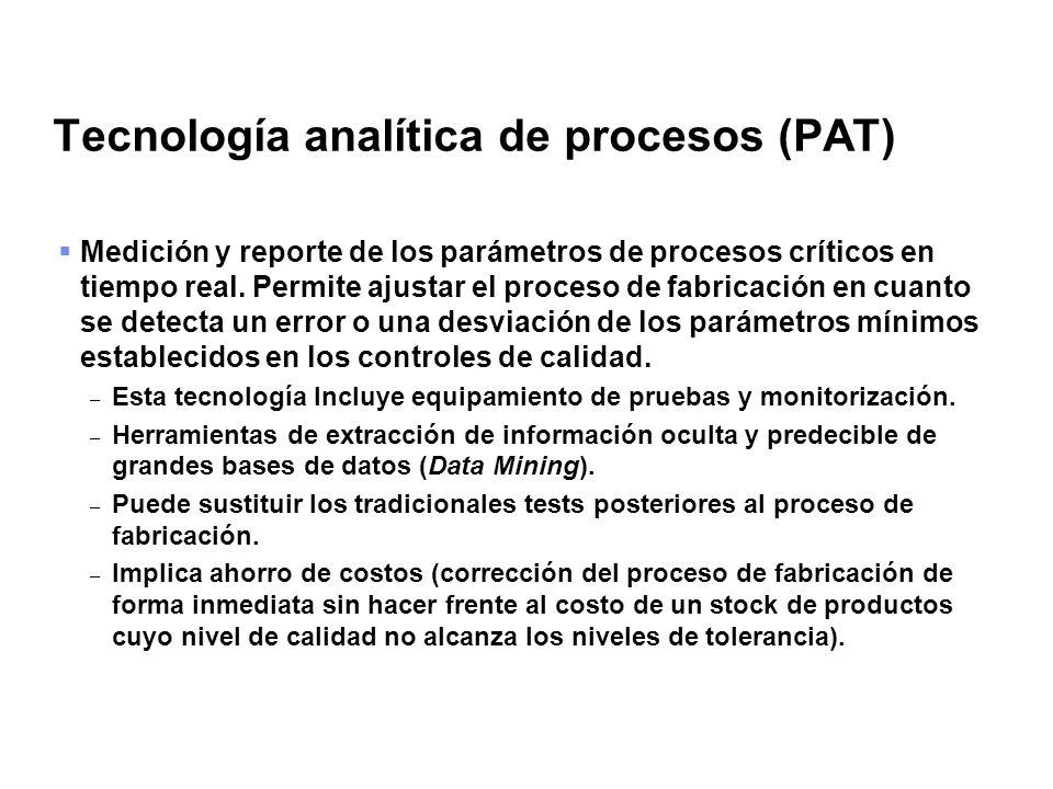 Tecnología analítica de procesos (PAT)
