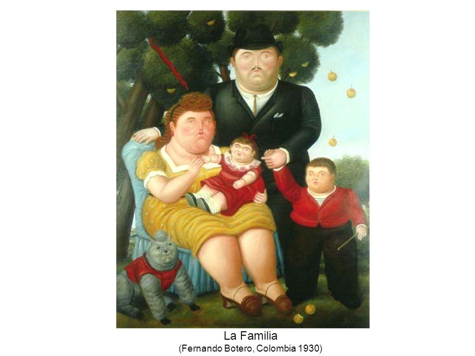 La Familia (Fernando Botero, Colombia 1930)