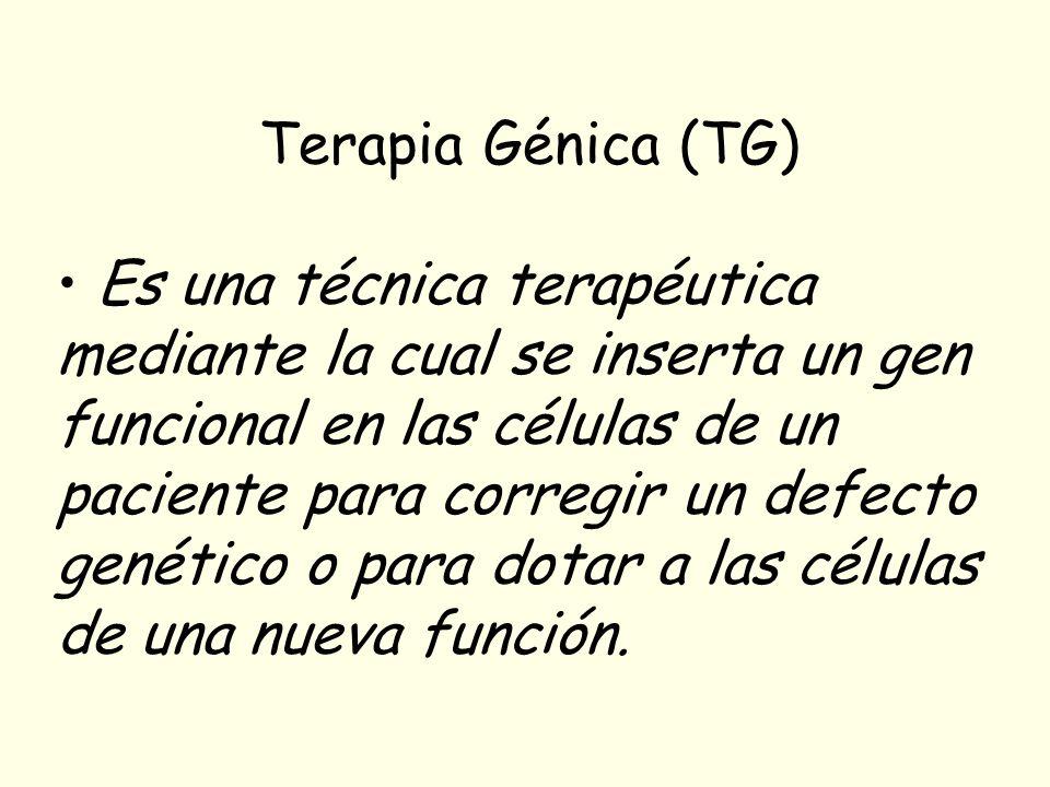 Terapia Génica (TG)