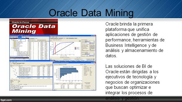 Oracle Data Mining