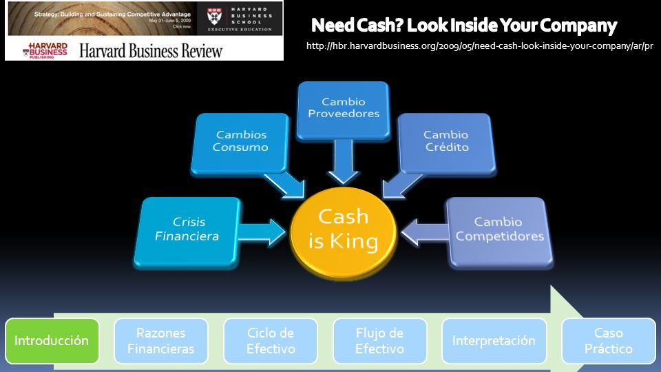 Need Cash Look Inside Your Company